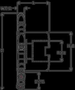 375 series full radius shell mount slotting cutter illustration.png