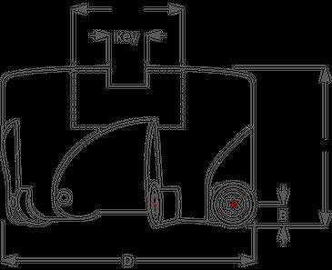 K-Tool, Inc. Series #3 Shell Mill Button Cutter