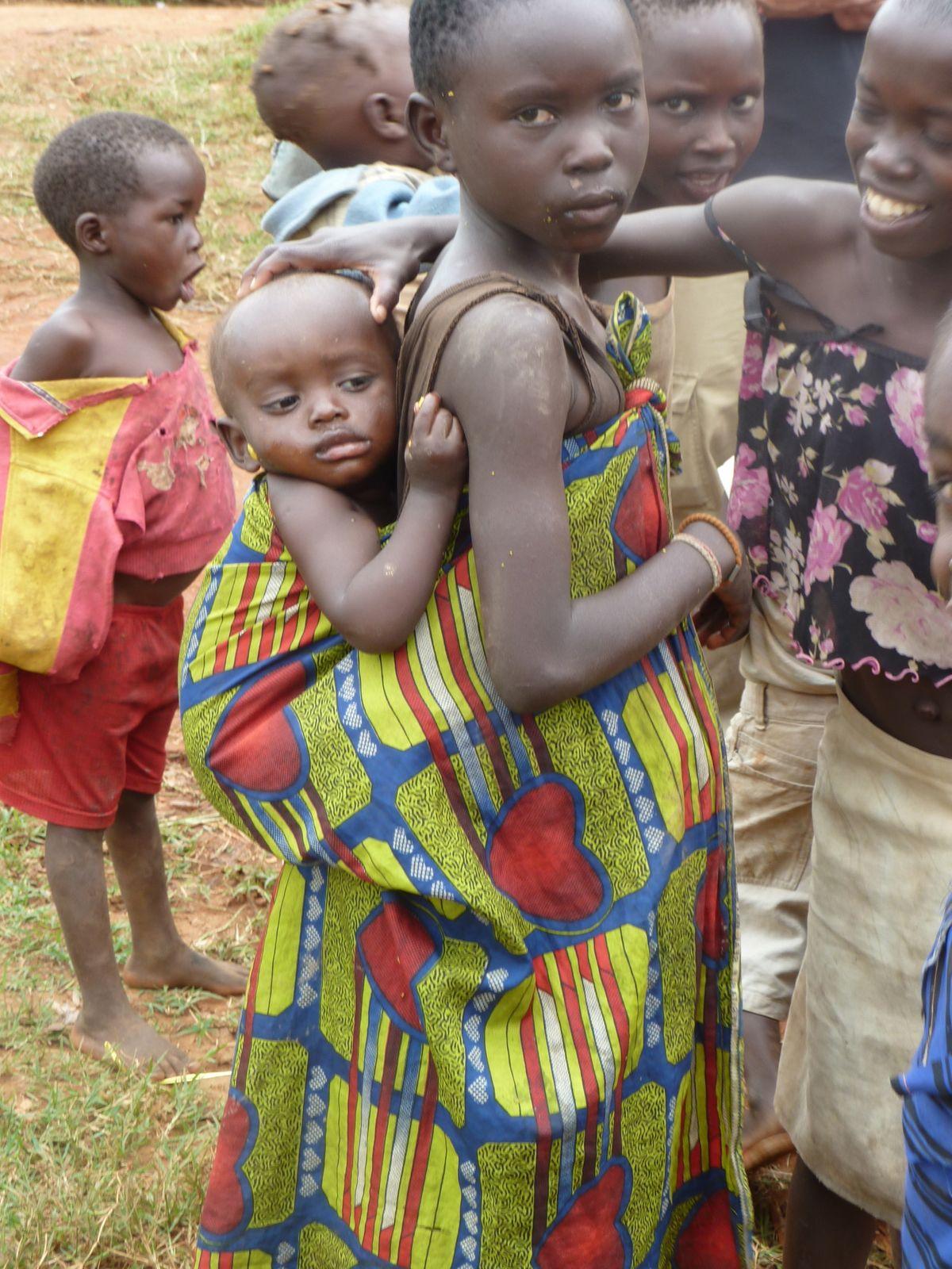 Children raising children