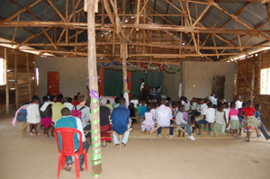Inside Bweya Community Church