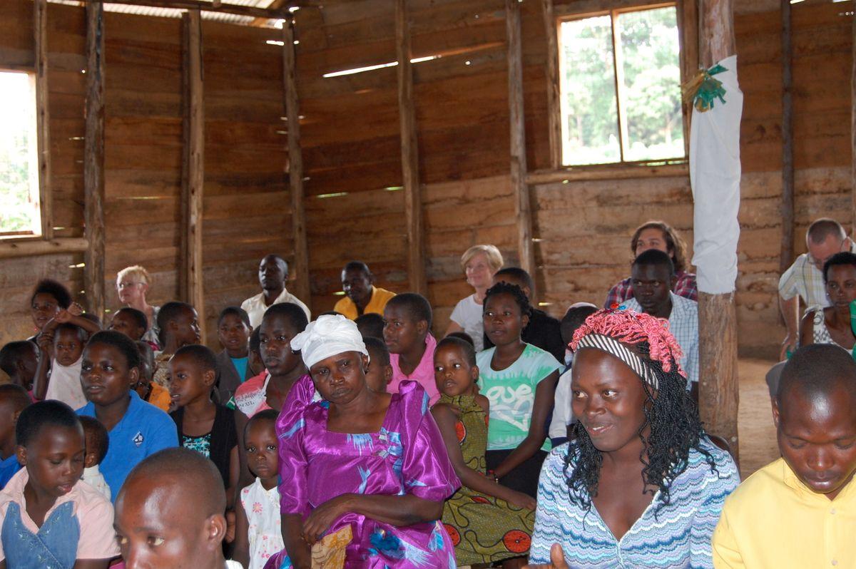 Worship at Bweya Community Church