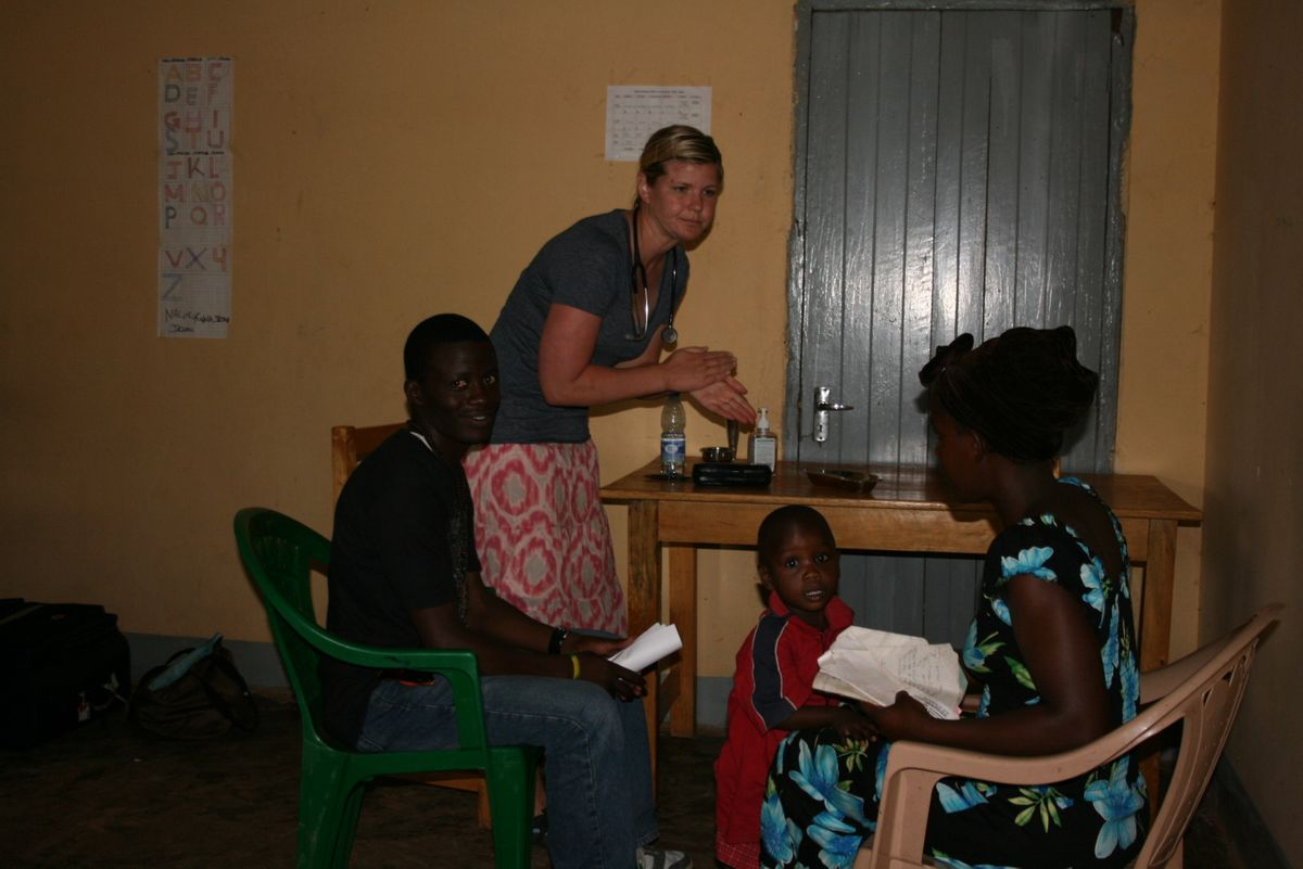 Medical missions lead by Dr. Rice