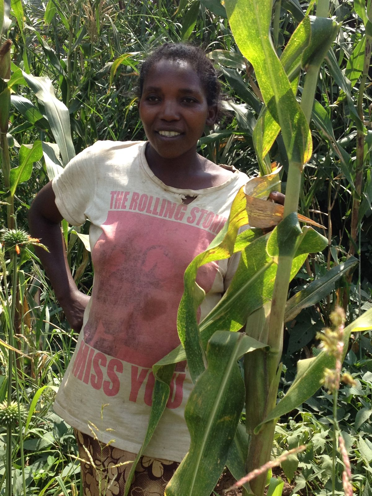 Rosette and her agricultural project to sustain her family