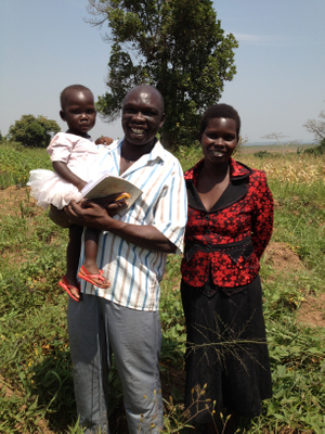 Tom & Esther, members of Bweya Community Church