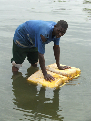 The alternative to clean water...Lake Victoria