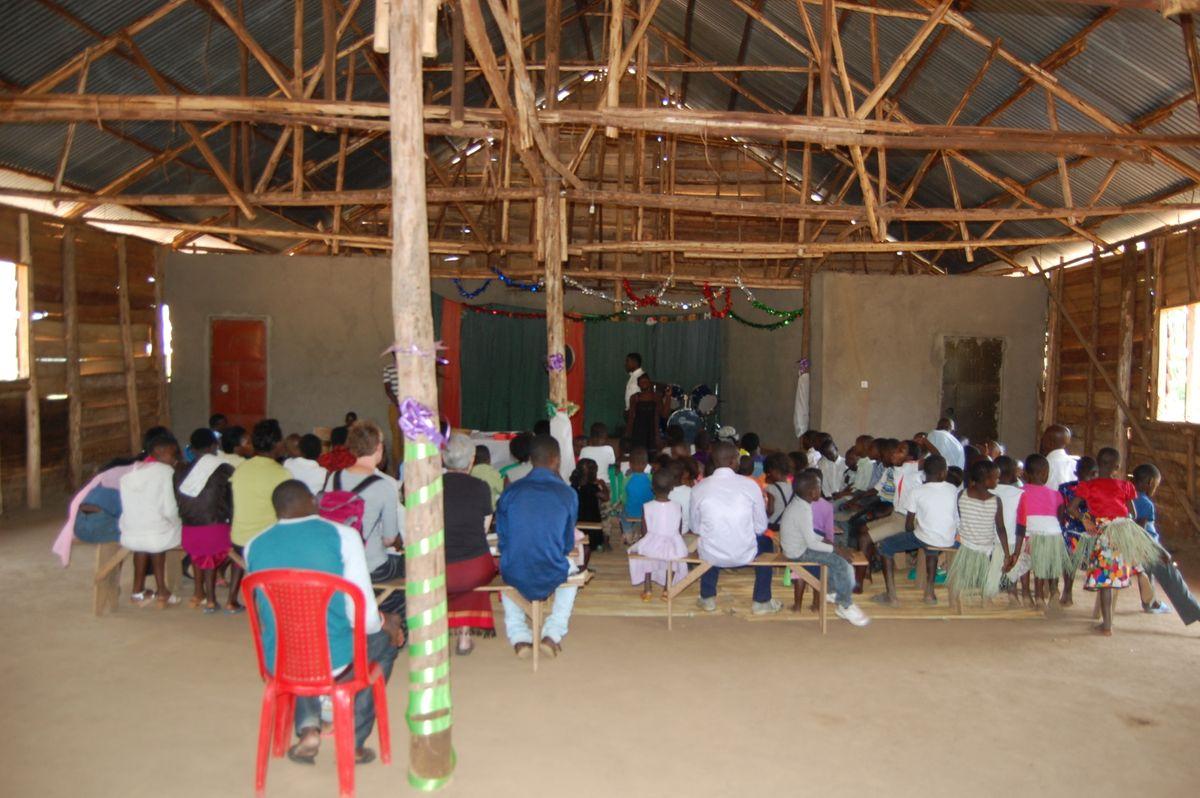 Inside Bweya Community Church