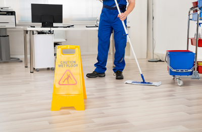 Commercial Cleaning Floors