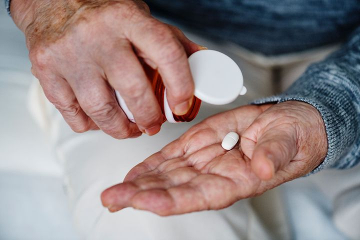 Patient Holding Medication