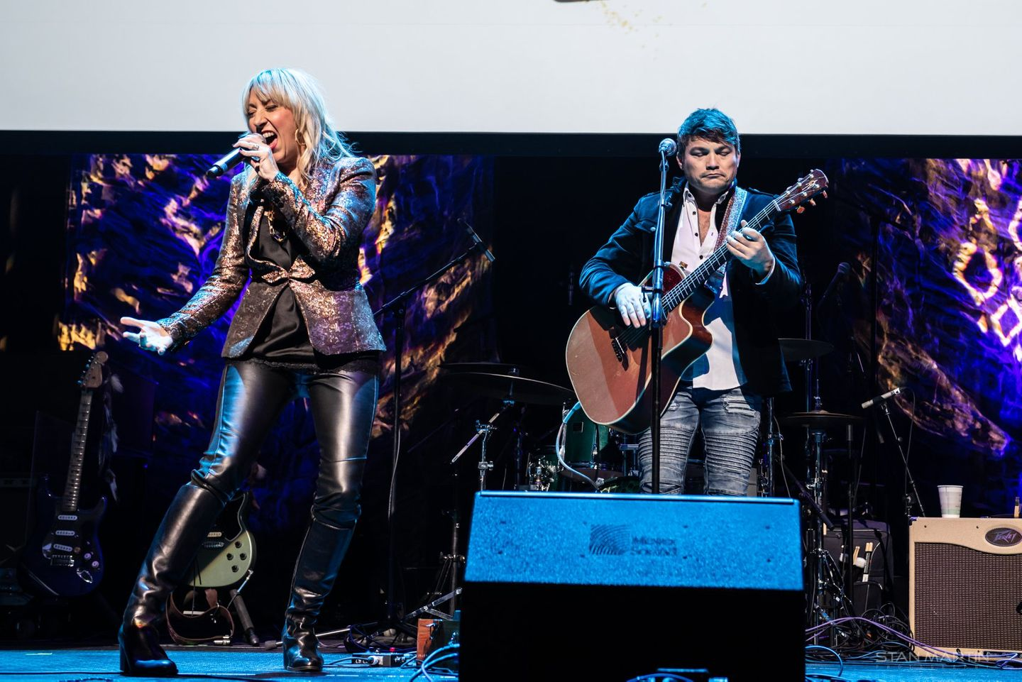 Ginger Leigh & John Pointer at ACL Live