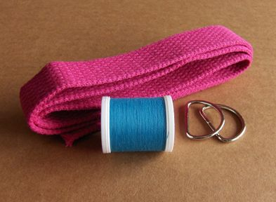 Project Kit #1 - D-Ring Belt