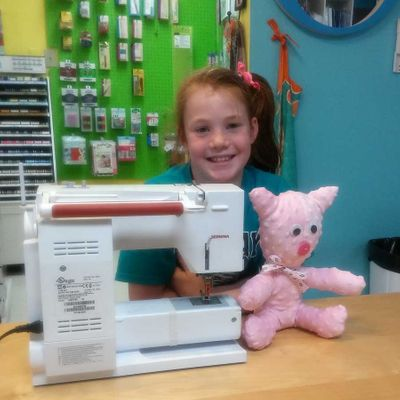 You and Your New Sewing Machine