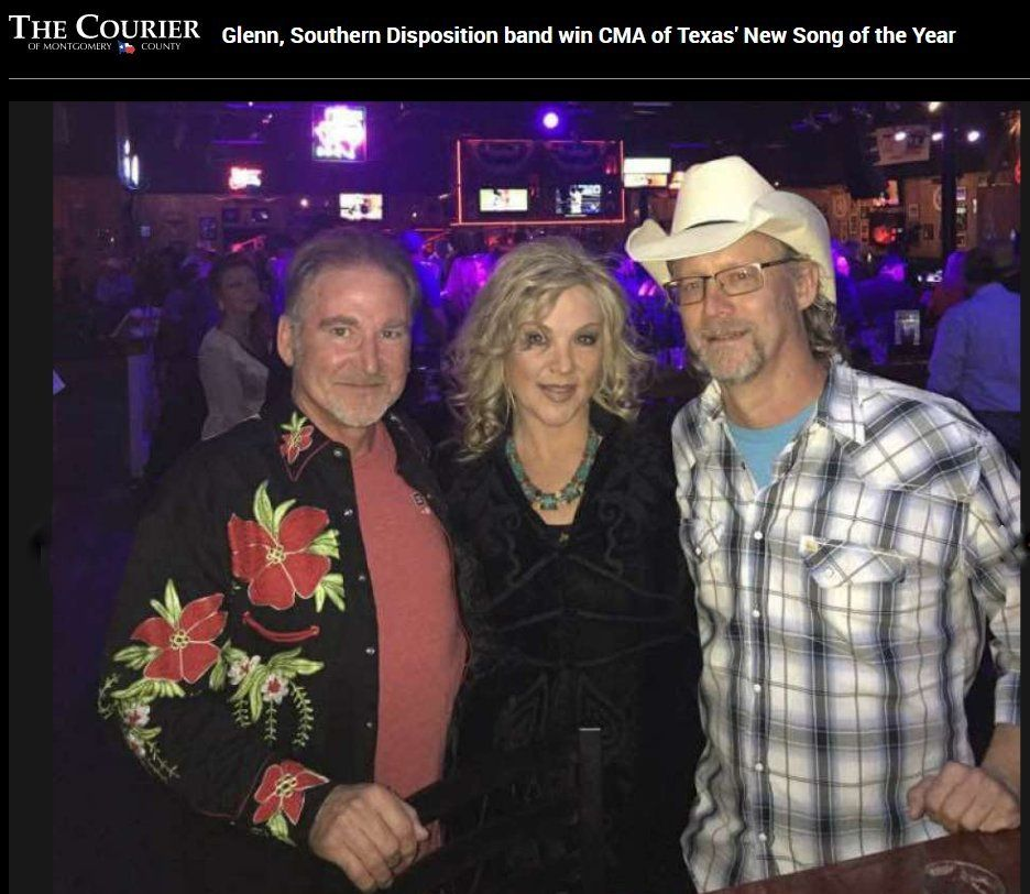 Glenn, Southern Disposition band win CMA of Texas' New Song of the Year - The Courier.jpg