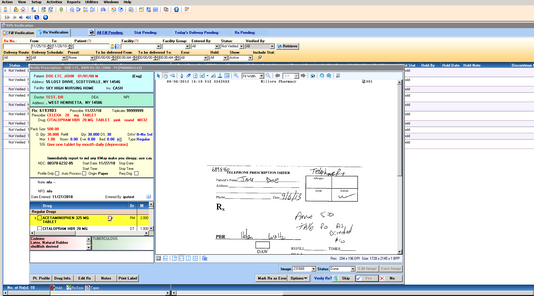 IPS Pharmacy System Screen shot.png
