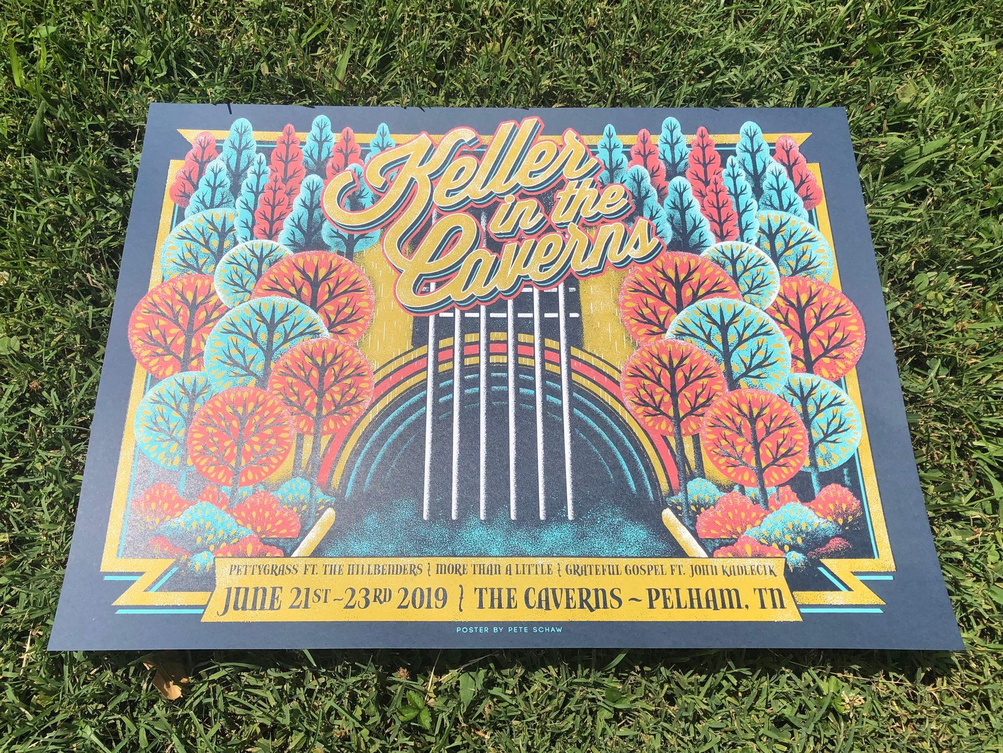 Keller Williams The Caverns 2019 poster.JPG