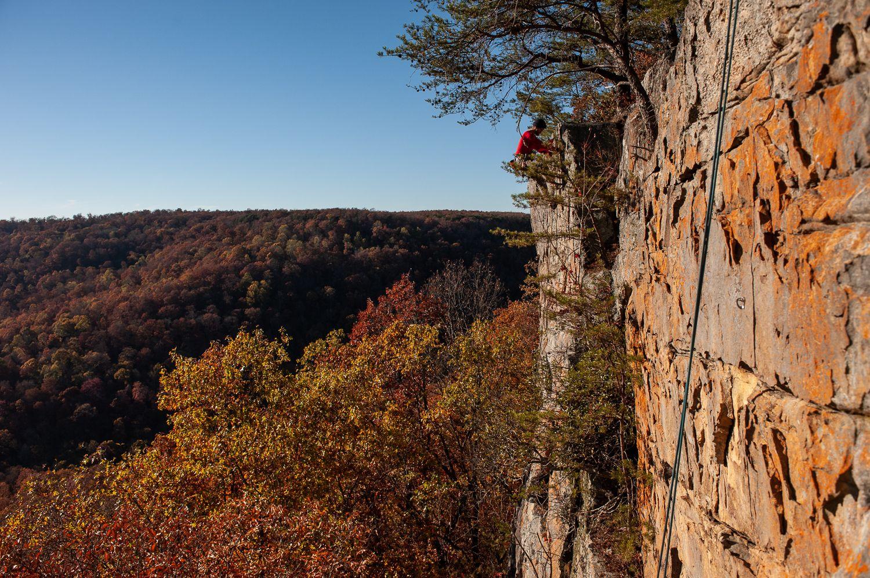 Foster Falls Rock Climbing