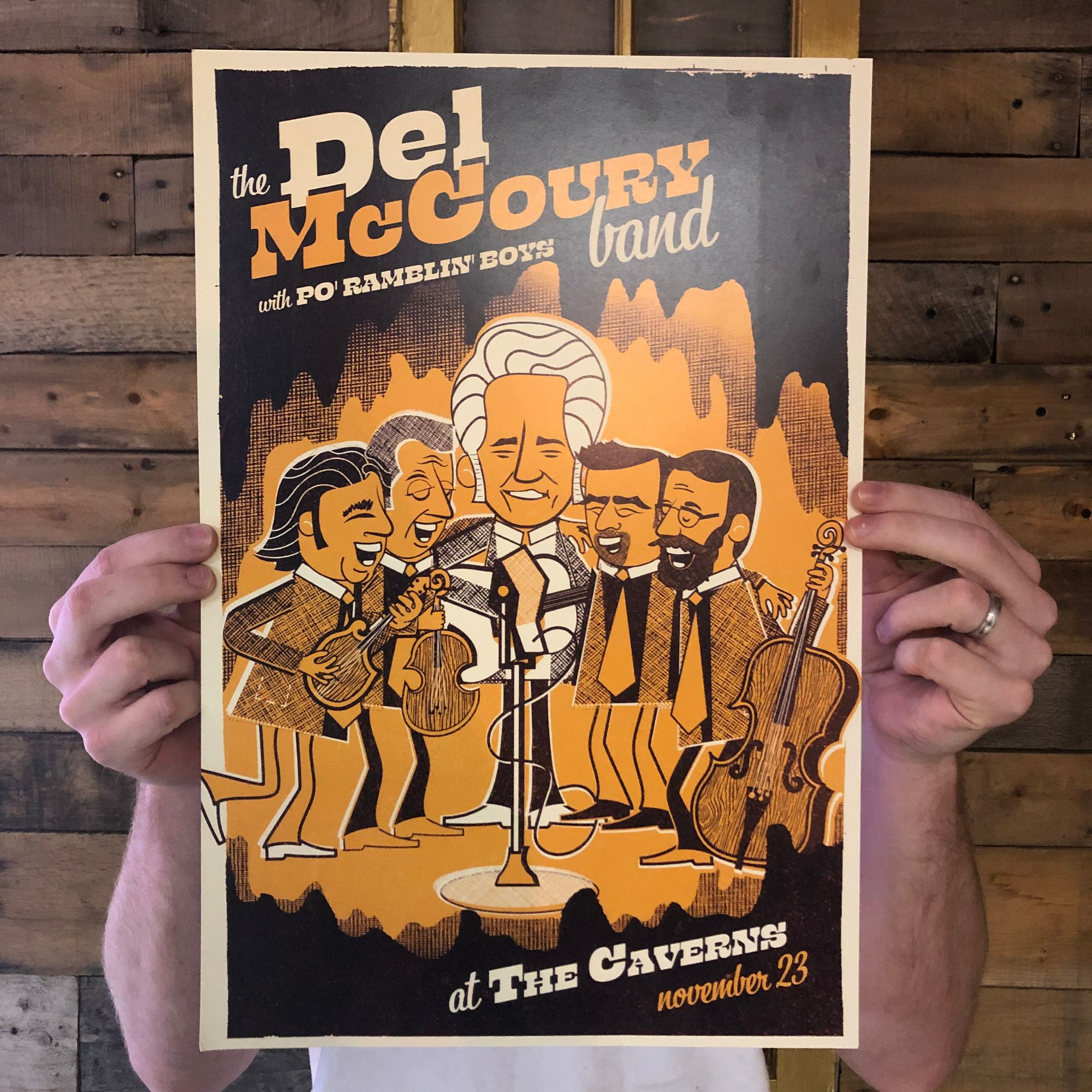 Del McCoury Band The Caverns 2019 photo SQ.jpg