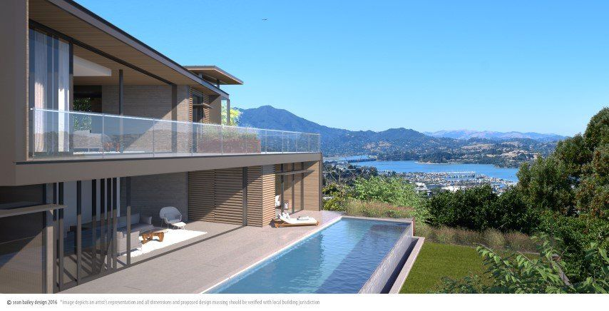 37 CRECIENTA DR., SAUSALITO (SOLD) -  Sold for: $1,200,000