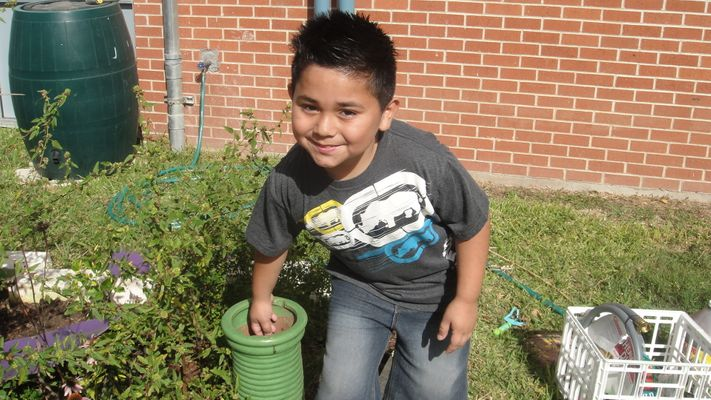 Greening Your Schoolyard environmental education in Austin, TX