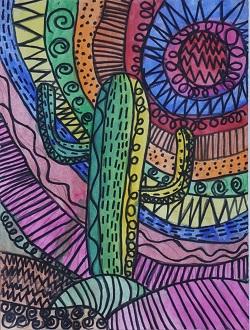Safari Cactus by Kiyoshi Shellhammer