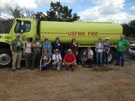 USFW Prairie Burn