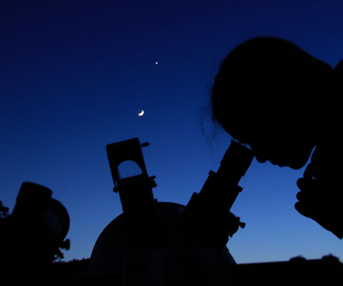 Dark sky location near Austin, TX for star-gazing
