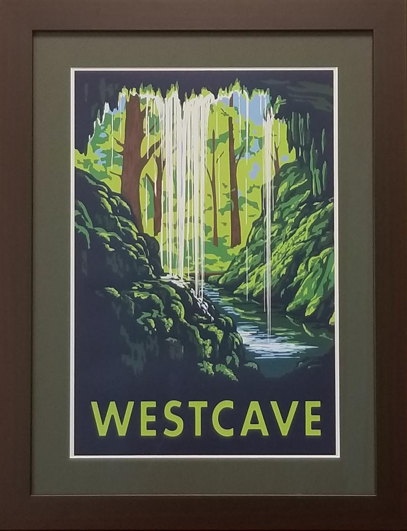Westcave Poster - Framed.jpg