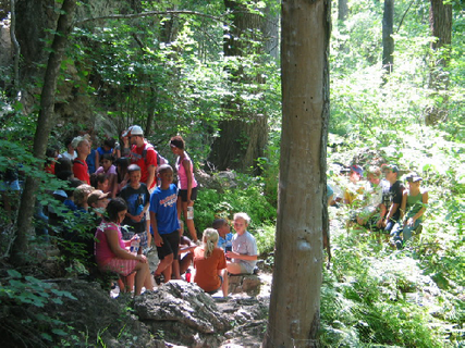 School groups experience environmental education in Austin