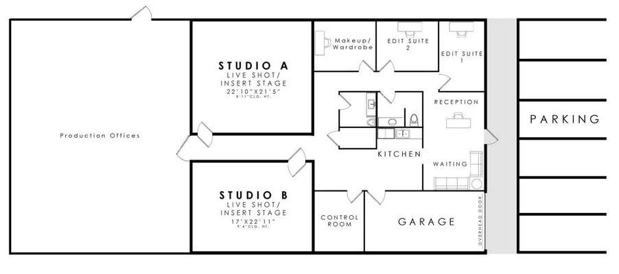Studio Annex Floor Plan