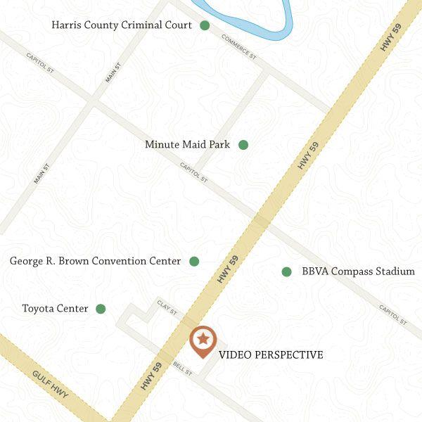 Video Perspective Location Houston, Texas