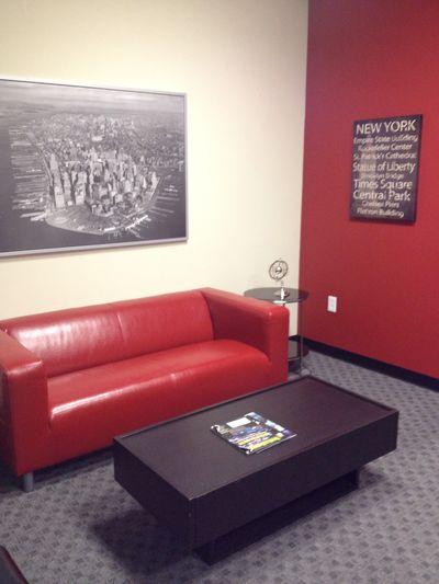 Video Perspective Reception Area