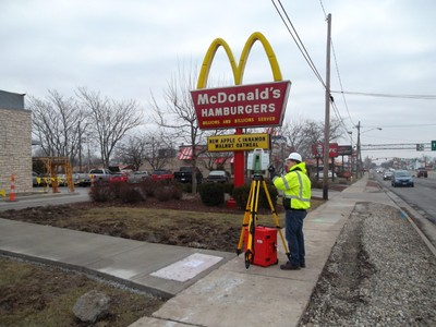 3D Laser Scanning of Utility Placement at a Restaurant