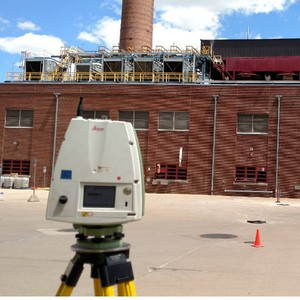3D Laser Scanning a Power Plant