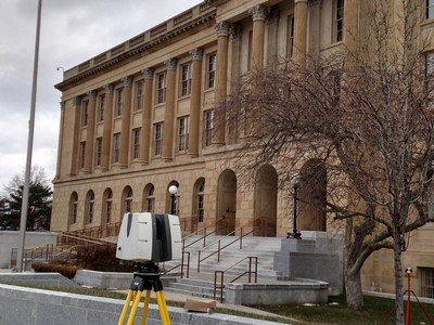 3D Laser Scanning a Federal Courthouse
