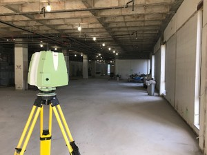 Laser Scanning Office Space