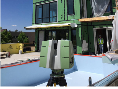 3D Laser Scanning for Fabricated Panels