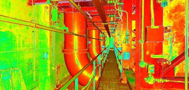 3D Laser Scanning A Sewage Pumping Station