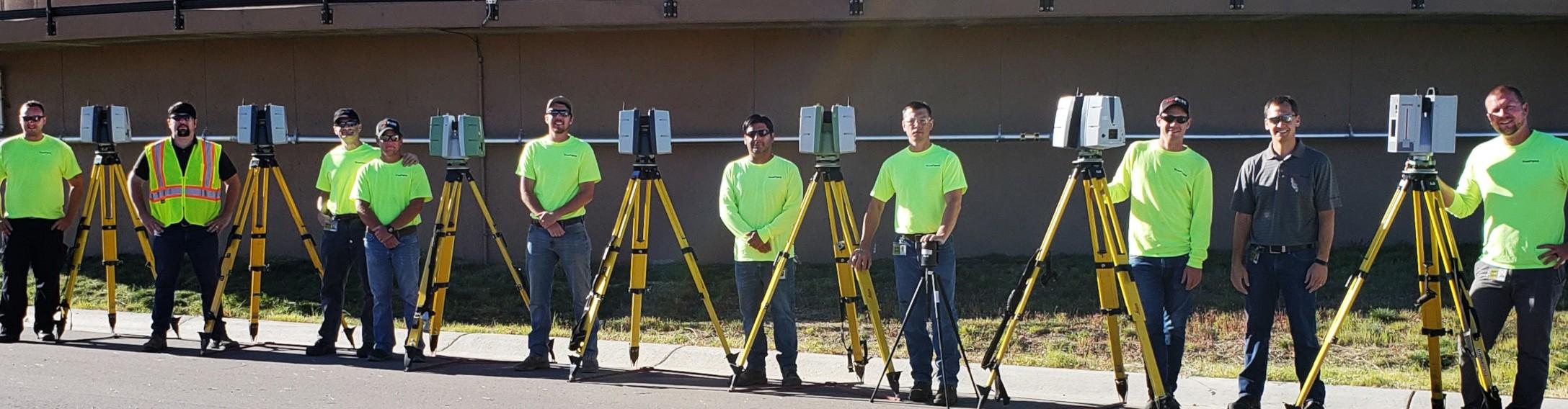 3d laser scanning technicians