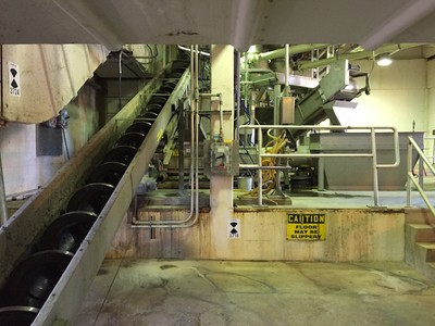 3D Laser Scan a Wastewater Treatment Facility