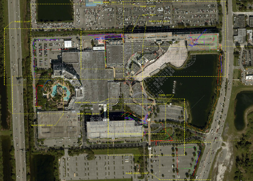 Casinos In Florida Map.Truepoint 3d Laser Scans Gpr Markings At Casino In Florida