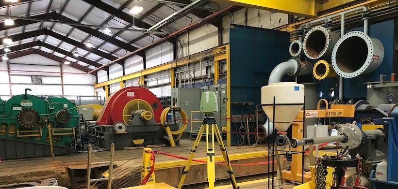 Laser Scanning Industrial Pump
