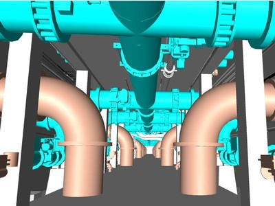 Laser Scanning 120 MGD Water Treatment Facility