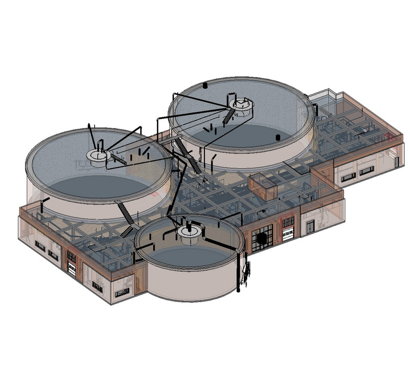 Wastewater Treatment Plant As-Built Documentation