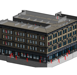 3D Reality Capture to Create As-Builts of Historic Building