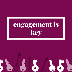 Engagement is Key blog cover