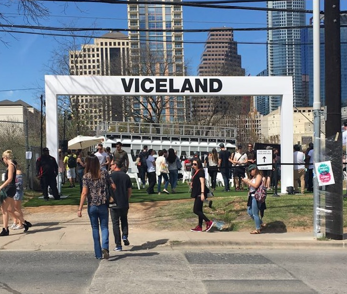 Viceland Activation at SXSW