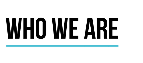 WHO WE ARE header