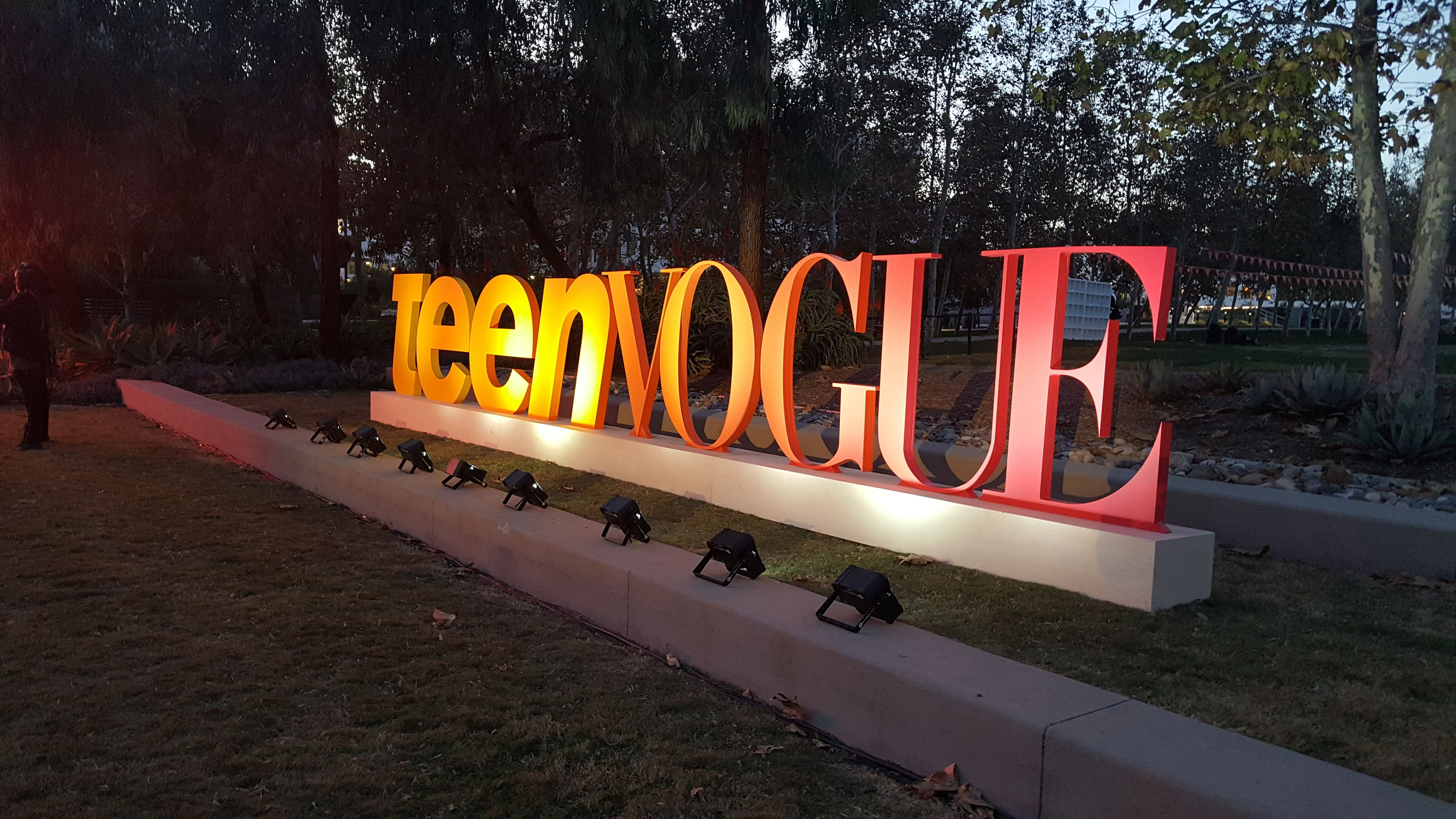 teen vogue signage