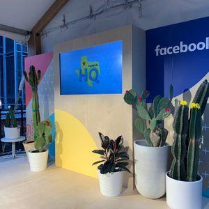 Facebook HQ Scenic Stage Design SXSW