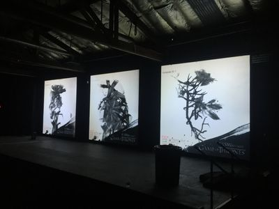 Three Screen Projection Display at SXSW