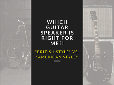Which Guitar Speaker is Right for Me?!